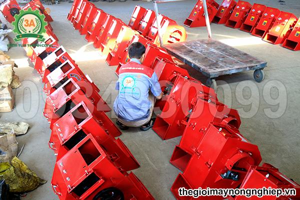 xưởng sản xuất Máy nghiền ngô, băm rơm, bã mía, vỏ dừa 3A3Kw