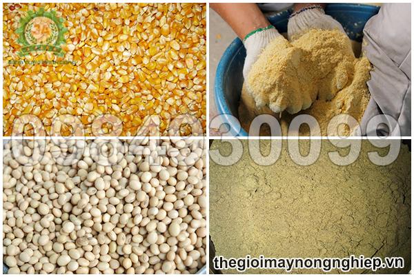Tính năng nghiền bột khô các loại nguyên liệu